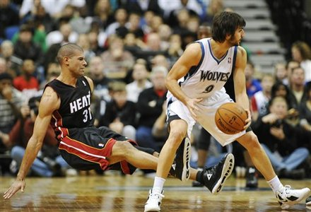 Miami Heat's Shane Battier (31) Hits