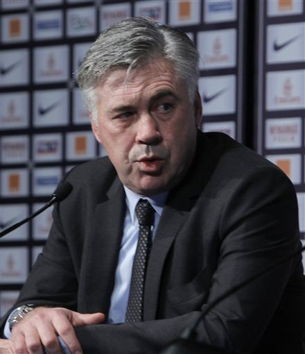 Paris Saint Germain (PSG) New Coach Carlo Ancelotti, Of Italy, Answers