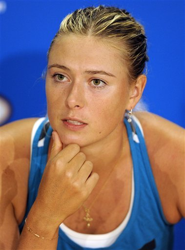 Maria Sharapova Of Russia Speaks