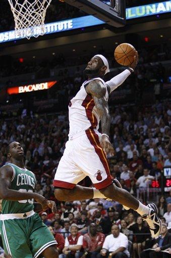 LeBron Celtics Dunk 2011