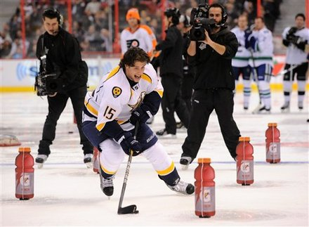 Nashville Predators' Craig Smith Takes