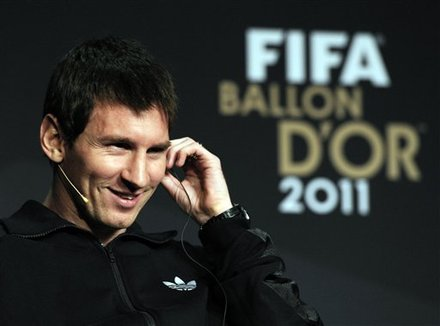 Lionel Messi Of Argentina, One Of The Nominees