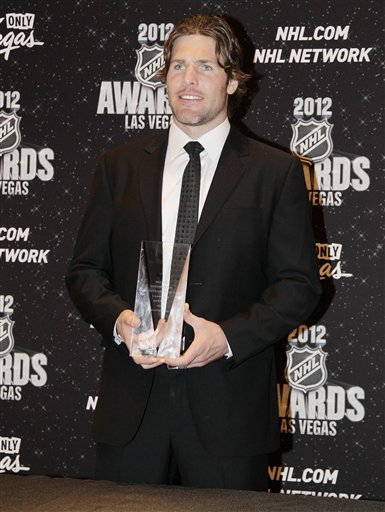 Nashville Predators' Mike Fisher Poses