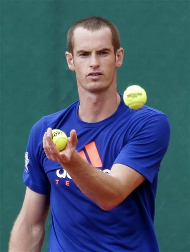 Andy Murray Of Great Britain Jungles