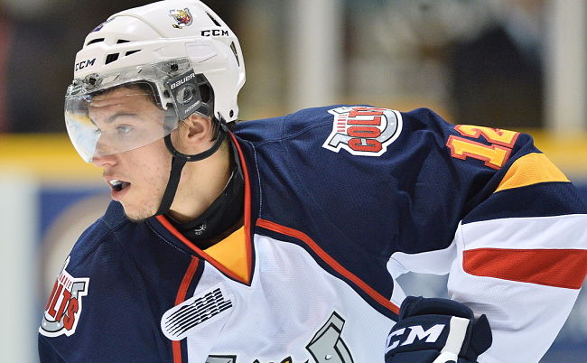 Barrie Colts grind out Game 1 win over Sudbury Wolves despite Ekblad being shaken up by shot block: OHL post-game questions