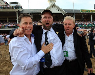Kentucky Derby-winning trainer has been punished for giving horses illegal drugs
