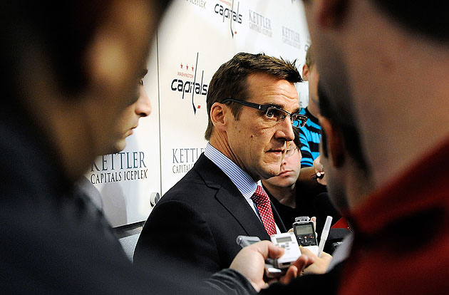 Capitals GM McPhee: New coach likely after draft, NHL experience not necessary