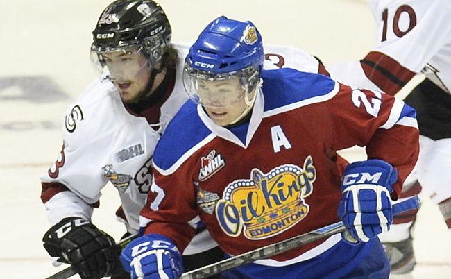 Ottawa Senators prospect Curtis Lazar getting valuable lesson on leadership with Edmonton Oil Kings