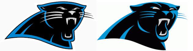 The Carolina Panthers have a new logo