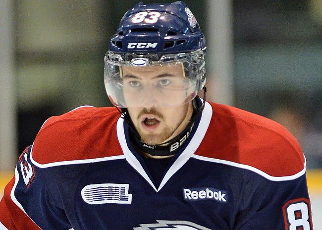 NHL draft tracker: Brandon Prophet, Saginaw Spirit