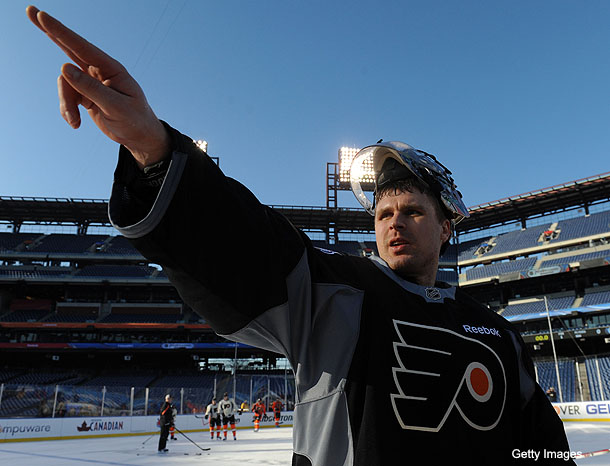 Ilya Bryzgalov announces he's not starting Winter Classic