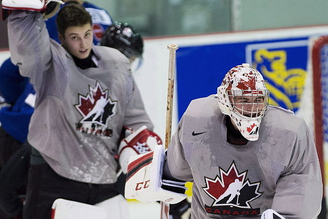 Zach Fucale starting Team Canada's exhibition opener; Jake Paterson's experience carries a lot of weight