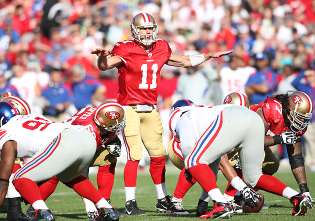 Smarter Stats: New York Giants at San Francisco 49ers