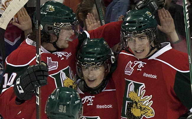 Halifax Mooseheads' Jonathan Drouin has the most amazing shift you'll ever see