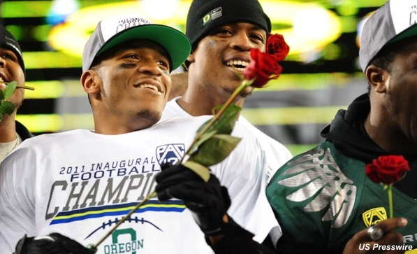 LaMichael James is starting to sound like a guy looking forward to his senior year