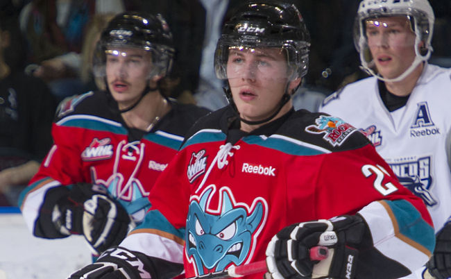 "Kelowna's ""best crowd since '09″ helps Rockets erase three-goal deficit and earn 5-4 Game 1 victory over Portland"