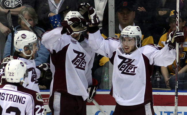 Peterborough Petes' Hunter Garlent galvanized after father's passing: 'Every shift that I play, it's for him'