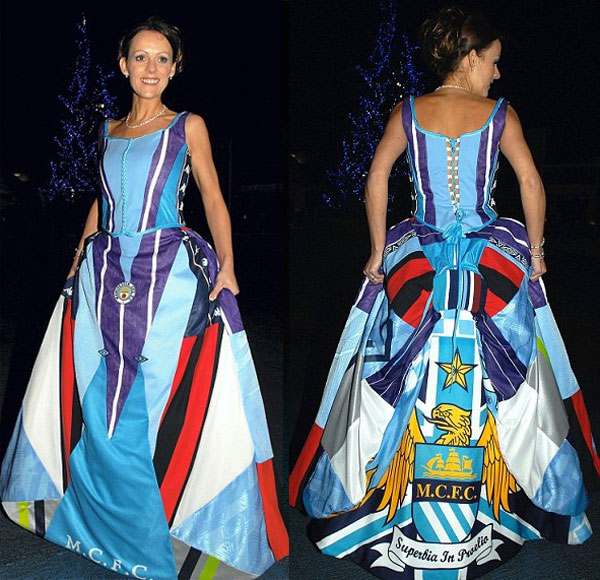 The Manchester City Wedding Dress