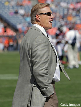 John Elway wants Tim Tebow to 'pull the trigger.' But can he?