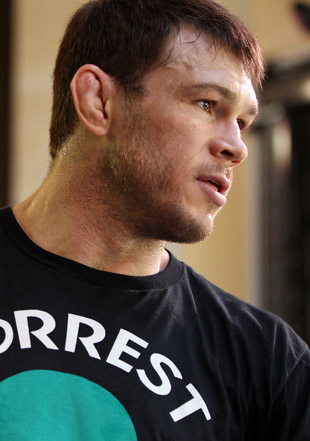 Forrest Griffin admits to taking Xanax before losing to Anderson Silva at UFC 101