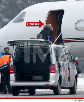 Yeah, Tiger Woods apparently loaned Lindsey Vonn his plane. So? Wouldn't you?
