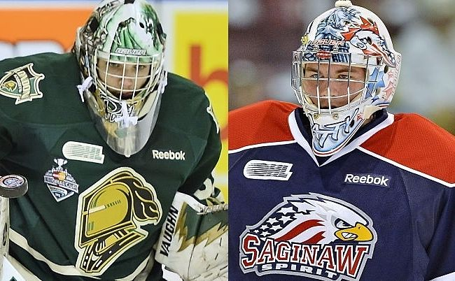 OHL goalies with same name heading to Detroit Red Wings prospect camp