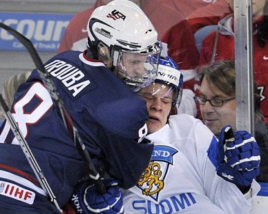 NHL draft tracker: Jacob Trouba, U.S. under-18 team (VIDEO)
