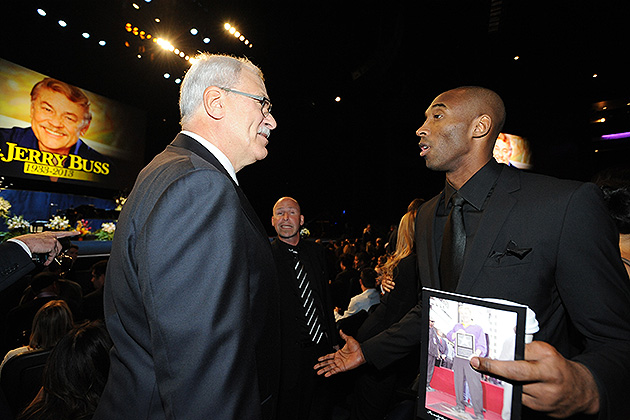 Phil Jackson on Kobe Bryant's contract extension: 'They paid him more than I would have gone for'