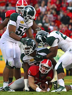 It wasn't pretty, but Spartans' rally saves the Big Ten from another New Year's flop