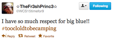 UK player tweets about Big Blue Madness campout