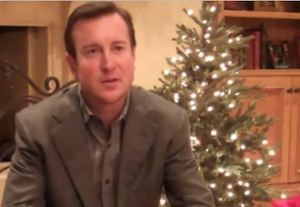 Kurt Busch goes to the Hendrick Christmas party