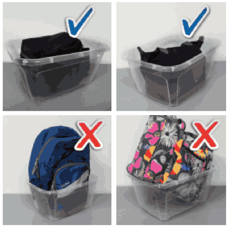 Security changes at Commonwealth prohibit large bags