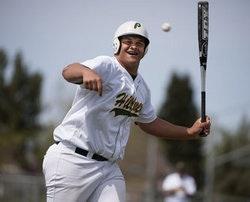 Placer baseball player Eddie Vanderdoes — Sacramento Bee