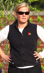 Lacrosse coach Kellie Young