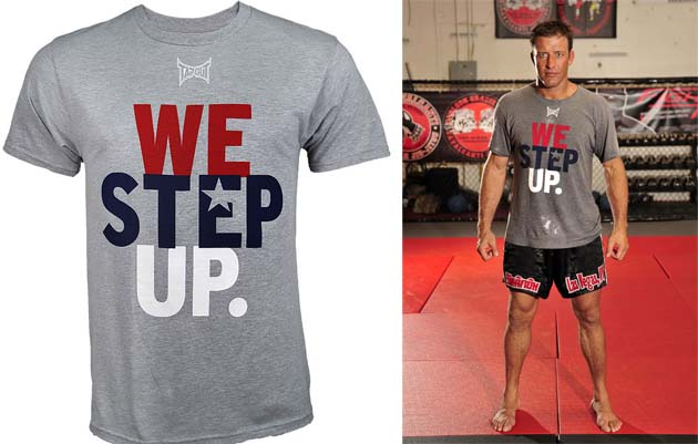 MMA Marketplace: Stephan Bonnar's 'We Step Up' shirt