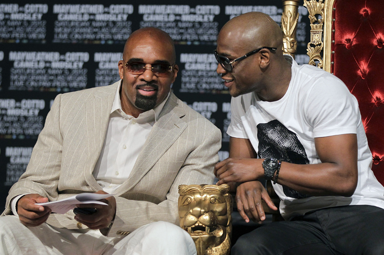 Floyd Mayweather 'will never, ever go broke,' and a potential $100 million payday Saturday won't hurt