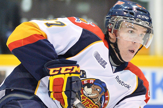 Erie Otters' Connor McDavid scores ridiculously easy-looking wraparound goal (VIDEO)
