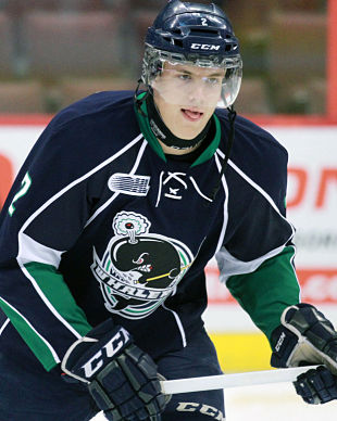 NHL draft tracker: Alex Peters, Plymouth Whalers