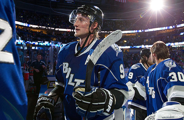 Saturday's Three Stars: Stamkos' New Year's Eve trick