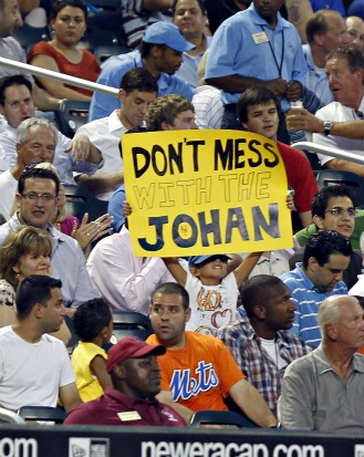 Closing Time: Johan Santana shocks the world