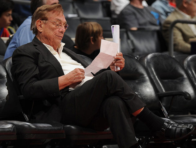 The 10-man rotation, starring Donald Sterling's skeevy ways