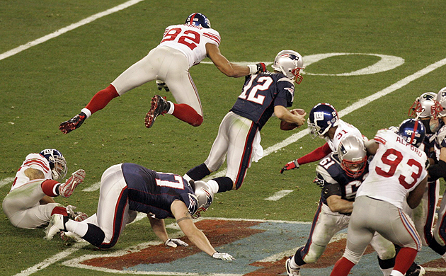 More than anything, Patriots remember Giants' Super pass rush