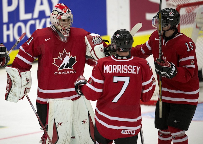 World junior championship: Canada's large scoring chance advantage helped them win third period against Slovakia
