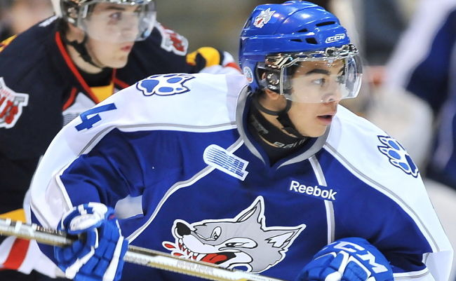 NHL draft tracker: Nick Baptiste, Sudbury Wolves