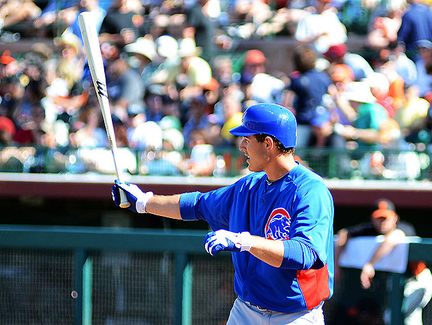 Hey, stop us if you've heard this one before: Anthony Rizzo is raking at Triple-A