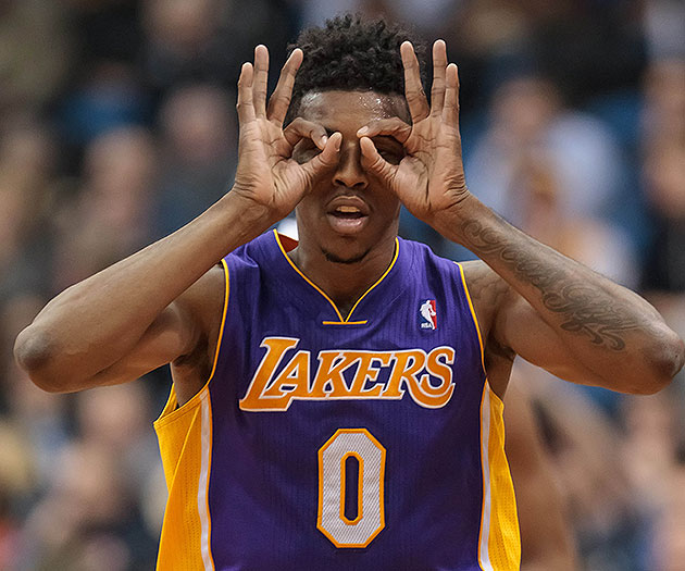 Lakers' Nick Young out at least 2 weeks with non-displaced left knee fracture, bone bruise (Video)