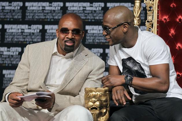 "Key Floyd Mayweather adviser calls 50 Cent's new promotional company a ""breath of fresh air"""
