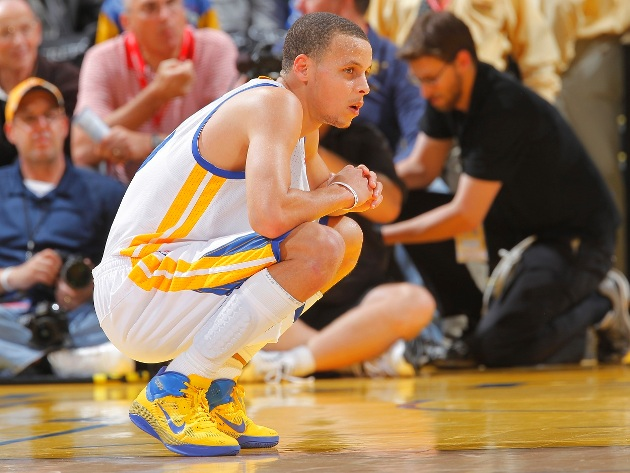 Court Report: Stephen Curry needs a break