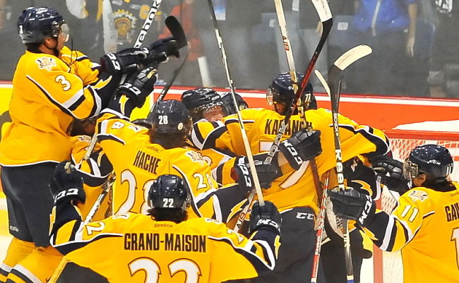 2012 MasterCard Memorial Cup: Shawinigan Cataractes' win marks end of an era for Sea Dogs; post-game questions