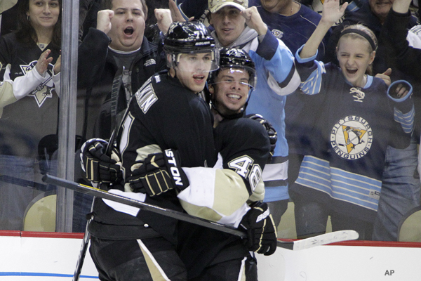 Hockey Hugs: Sutter's gone soft, Baby Malkin, Buff love